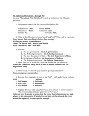"AP Stylebook Worksheet – through ""N"""