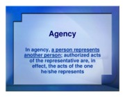 agency ppt