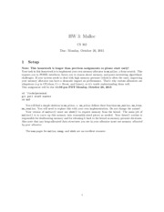hw1 - HW 1 Shell CS 162 Due Contents 1 Getting started 2 2