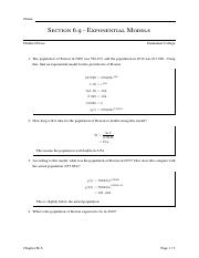 Exponential Models Activity - Solutions.pdf