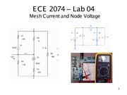 ECE 2074 Mesh Node Analysis Notes