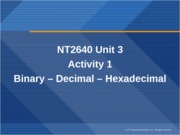 NT2640.U3.WS1.Number Conversion