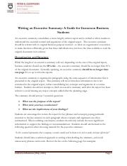 Guide to Writing Executive Summary.pdf