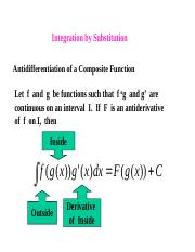 Integral by Substitution.ppt