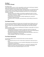 the best and worst topics for one minute manager essay essay writing service the one minute manager essay