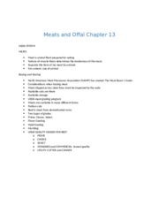 Meats and Offal Chapter 13.docx