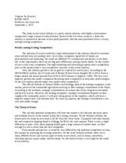 zara value chain analysis case zara fast fashion badm  2 pages case 1
