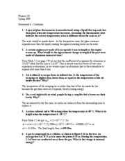 Physics 101 Assignment 5: (Fall 2009)?