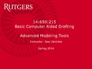 Advanced+Modeling+Tools