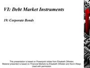 CHAPTER 19 - Corporate Bonds