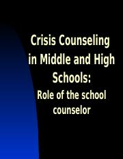 Guidance EXPO Crisis Counseling (3) 10.13.10