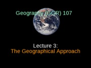 GGR107 lecture 3