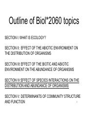 Ecology Lecture 22 Nov 9 2016