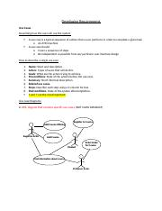 Lecture 11 - Chapter 4 -Developing Requirements