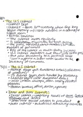 Notes, US Cabinet