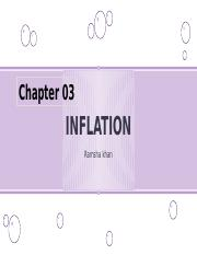 INFLATION chapter 3