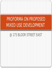 PROFORMA ON PROPOSED MIXED USE DEVELOPMENT.pptx
