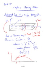 Class 18 Notes Chapter 14 bending problems