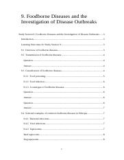 9._foodborne_diseases_and_the_investigation_of_disease_outbreaks.doc