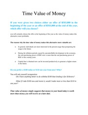 Time Value of Money(1) (1)