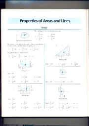 properties of areas and lines