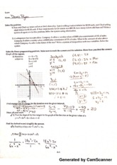 Math for Decision Making with Tech Exam Practice