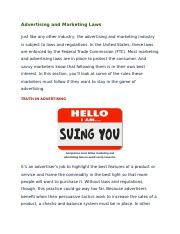 1.05 Advertising and Marketing Laws.docx