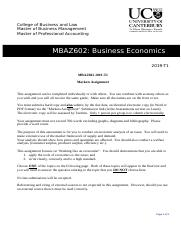 Markets assignment MBAZ602 2019 T1 (1).docx