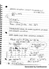 Percent Ionization Notes
