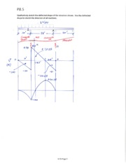HW #10 - P8-5, P8-13 with shear and moment diagrams.pdf