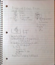 PS110 Buotancy and Archimedes Principal Notes