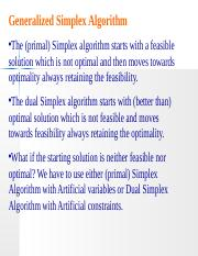 OPTIMIZATION Z2 generlized simplex method