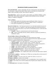 gordons functional health pattern essay