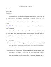 Case Study- Middle Adulthood.docx