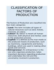 CLASSIFICATION OF FACTORS OF PRODUCTION.docx