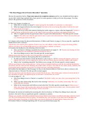 The Short Happy Life of Francis Macomber study questions(1).docx