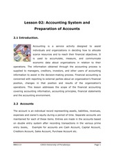 113-2 Accounting systems and preparation of accounts