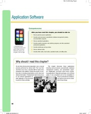 1 Chapter 3 Application Software