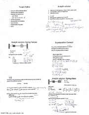 Lecture 11 Coupled differential equations and Analytic Solution (student work)
