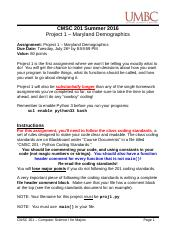 CMSC 201 - Project 1 - Maryland Demographics (1).docx