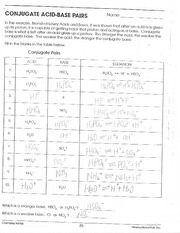 Printables Ph And Poh Worksheet reaction practice worksheet ph poh 1 pages conjugate acid base pairs