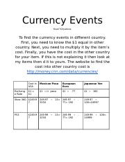 CurrencyEvents