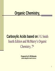ORGANIC 2_CARBOXYLIC ACIDS 16 March 2015 revised.ppt