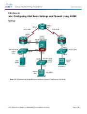 9.4.1.2 Lab - Configuring ASA Basic Settings and Firewall Using ASDM.pdf