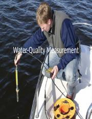 Lecture18 - Water Quality Measurement.pptx