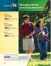 book ch 11 - managing_weight_and_eating_disorders