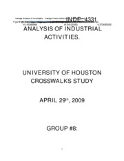 Industrial analysis final report