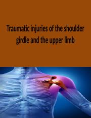Traumatic injuries of the shoulder girdle and the clavicle 5.pptx
