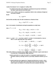 06 Recruitment (Geaghan equations)