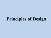 Principles of Design (1)